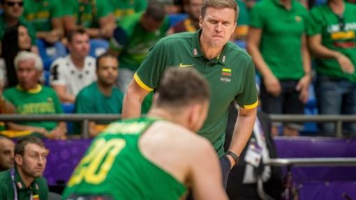 Paskelbtas Lietuvos vyrų krepšinio rinktinės kandidatų sąrašas
