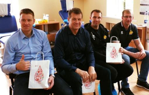 """Nacionalinis kraujo centras ir krepšinio klubas """"Šiauliai""""  kviečia jungtis prie kraujo donorų būrio"""