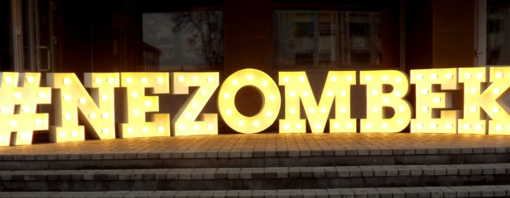 Zombiai kvietė nezombėti (FOTO)