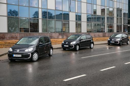 Sostinės viešosios tvarkos pareigūnai patruliuos elektromobiliais