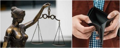Lietuvos teismų darbuotojai žiemos šventes sutiks tuščiomis piniginėmis (VIDEO)