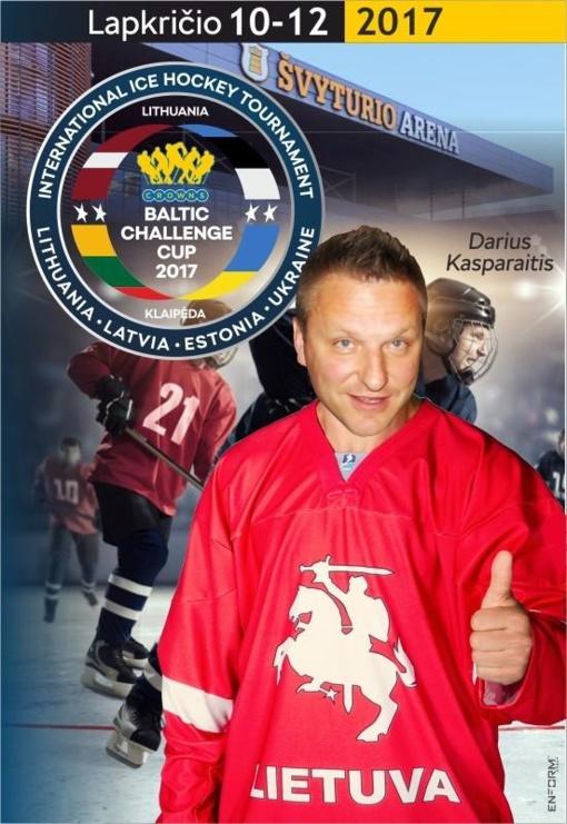 D. Kasparaitis ir D. Zubrus paskelbs bilietų pardavimo į Kaune vyksiantį pasaulio ledo ritulio čempionatą pradžią