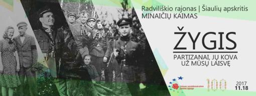 """Nacionalinis žygis """"Partizanai, jų kova už mūsų laisvę"""""""