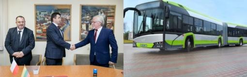"""Vilnius perka 150 modernių """"Solaris"""" autobusų"""