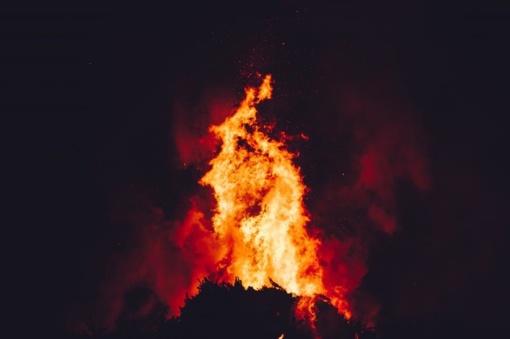 Anykščių rajone sudegė gyvenamasis namas
