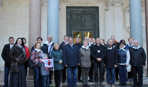 Minint Žemaičių vyskupystės įsteigimo 600 metų jubiliejų – piligriminė kelionė į Romą