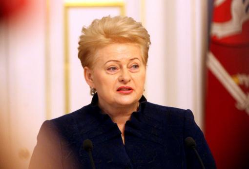 D. Grybauskaitė: Europai reikalinga Lietuvos patirtis kovojant su informacinėmis grėsmėmis