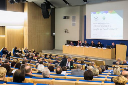 Konferencijoje diskutuota, kaip sustiprinti seniūnijas ir aktyvinti bendruomenes