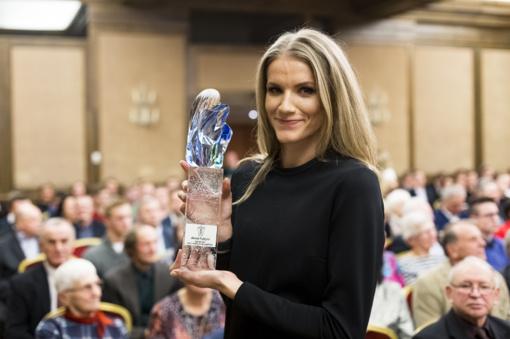 Geriausia Lietuvos lengvaatletė A. Palšytė: metai buvo kupini įvairių išgyvenimų