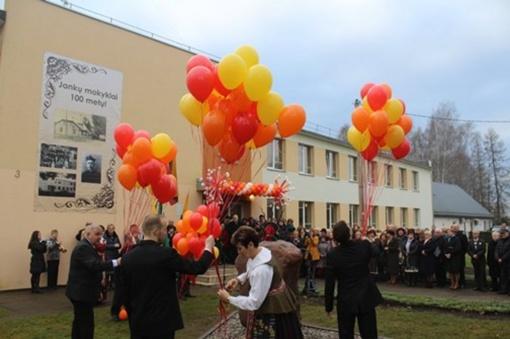 Paminėtas Jankų pagrindinės mokyklos veiklos jubiliejus