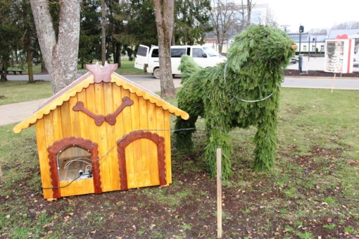 Druskininkų Gydyklų parkas jau alsuoja kalėdine dvasia (FOTO)