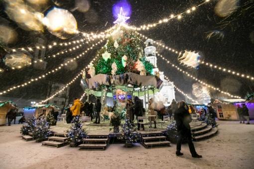 Kaunas Senamiestyje įžiebs Kalėdinę eglę