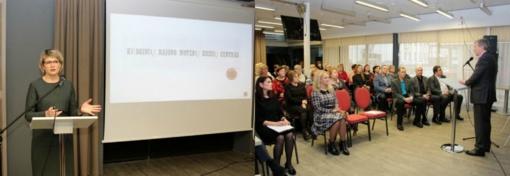Rajono nevyriausybinės organizacijos dalinosi sėkmės istorijomis ir gerąja patirtimi