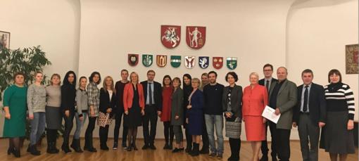 Ministras L. Kukuraitis domėjosi Trakų rajono socialinio darbo patirtimi