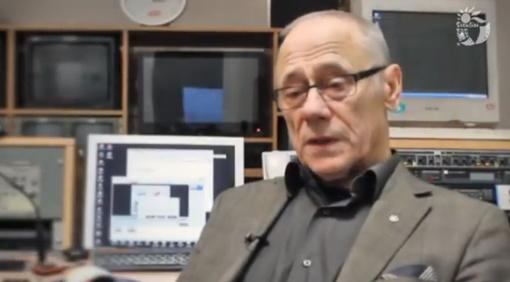 Vytautas Juškus apie televizijos įkūrimą Šiauliuose