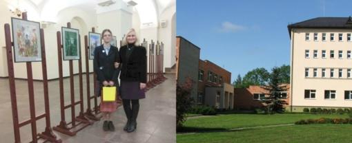 Sveikiname Krakių Mikalojaus gimnazijos mokinę Viltę Kvedaraitę