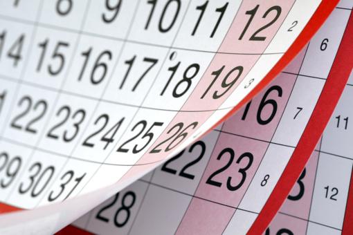 Atmintinų dienų sąraše - dar trys naujos dienos