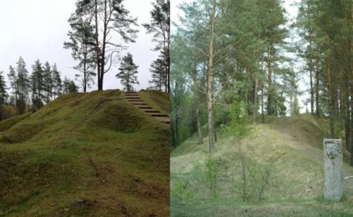 Atnaujintas Luokavos piliakalnis