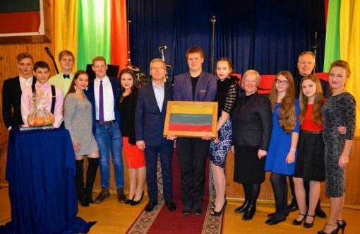 Pilietiškiausias 2017 metų smalininkietis – Dominykas Bertašius