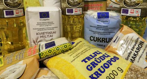 Bus dalinami produktai nepasiturintiems Jurbarko miesto gyventojams