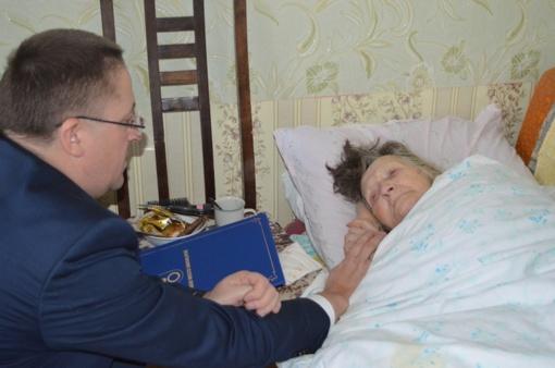 Šimtametei Antaninai Skirmantienei - Palangos mero sveikinimai