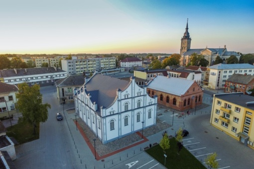 Tarp patraukliausių Lietuvos turizmo vietovių – Joniškio Baltosios ir Raudonosios sinagogų kompleksas