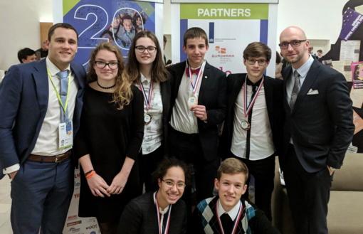 Panevėžiečiui jaunių gamtos mokslų olimpiadoje šypsojosi sėkmė