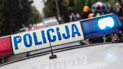 Vilniuje automobilis kliudė bėglį besivijusį apsaugos darbuotoją