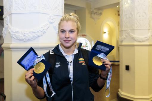 Plaukimo džiaugsmą susigrąžinusi R. Meilutytė: medaliai nuteikė optimistiškai