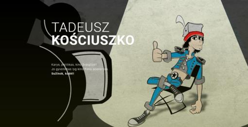 Startuoja tinklapis apie T. Kosciušką lietuvių kalba