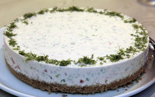 Silkės tortas Kūčioms