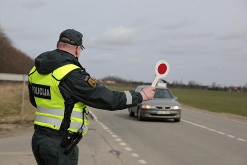 Per Jonines – sustiprintos policijos pajėgos ir girtumo patikrinimai