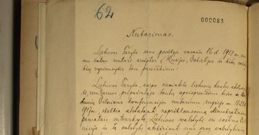 Signatarų namai ruošiasi priimti Vasario 16-osios aktą