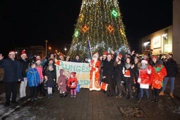 Kalėdiniai vakarai Plungės miesto aikštėje