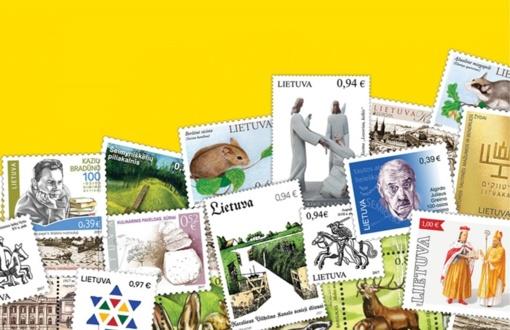 Apie 100-metį švenčiančią Lietuvą žinią skleis ir pašto ženklai