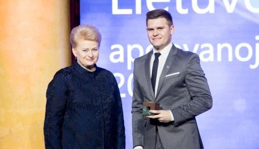 Globalios Lietuvos apdovanojimuose viena statulėlė iškeliavo ir į Tauragę
