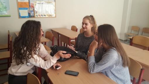 Anglų kalbos pamokos kitaip ŠU gimnazijoje
