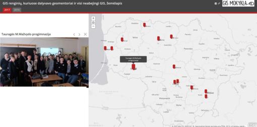 """Prie projekto """"GIS mokykla"""" aktyviai jungėsi ir Tauragė"""
