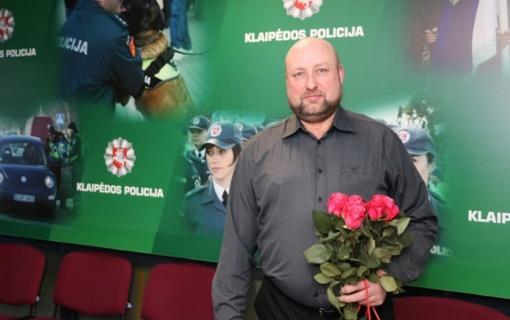 Tarnybą policijoje baigė patrulis Gintaras Užkoraitis