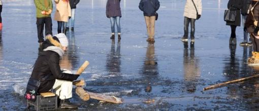 Stintapūkis Nidoje - ar stintas gaudysime ant ledo?