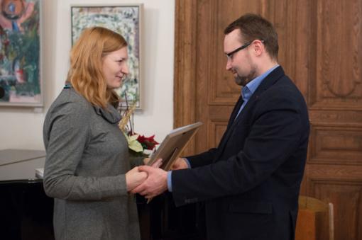 Įteikta tradicinė Rašytojų sąjungos premija