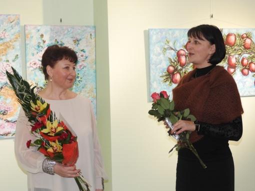Ignalinos krašto muziejuje atidaryta Alinos Novosad paroda