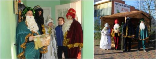 Pagėgių krašte šešioliktus metus lankėsi Trys Karaliai (FOTO)