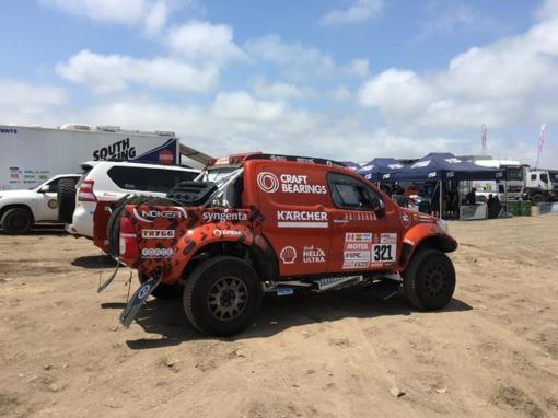 Dakaro komandų paslaptys: ką čia daro sunkvežimiai, kurie nelenktyniauja?