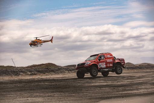Penktąją Dakaro ralio dieną A. Juknevičius tikisi išlaikyti tempą