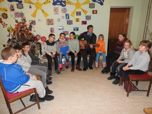 Linksma popietė Vaikų dienos centre