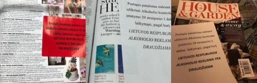 D. Grybauskaitė alkoholio reklamos plėšymą vadina gėdingu