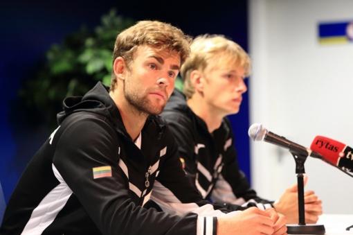 """Lietuvos teniso rinktinės treneris Rimvydas Mugevičius: """"Džiaugiuosi, jog vėl turėsiu pajėgiausios sudėties komandą"""""""