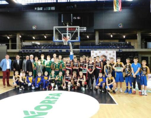 """Kėdainių arenoje ir sporto centre vyko jaunių krepšinio turnyras """"ARENA CUP"""""""