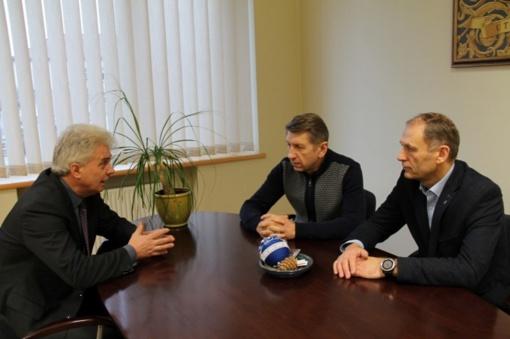Susitikime – apie bendradarbiavimo plėtrą ir Lietuvos valstybės atkūrimo 100-metį
